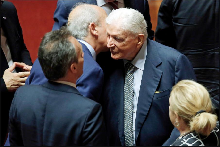 Sergio Zavoli Tg2 senatore a vita Michele Anzaldi