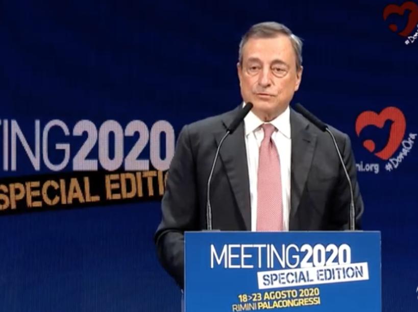Mario Draghi Michele Anzaldi Giuseppe Conte Festa Fatto Quotidiano