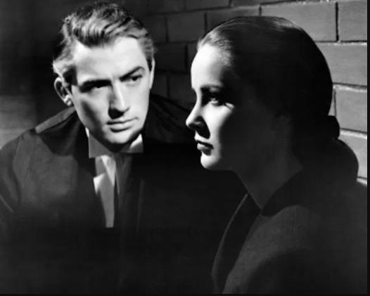 Il caso Paradine Gregory Peck Alida Valli stasera in Tv film di stasera Alfred Hitchcock
