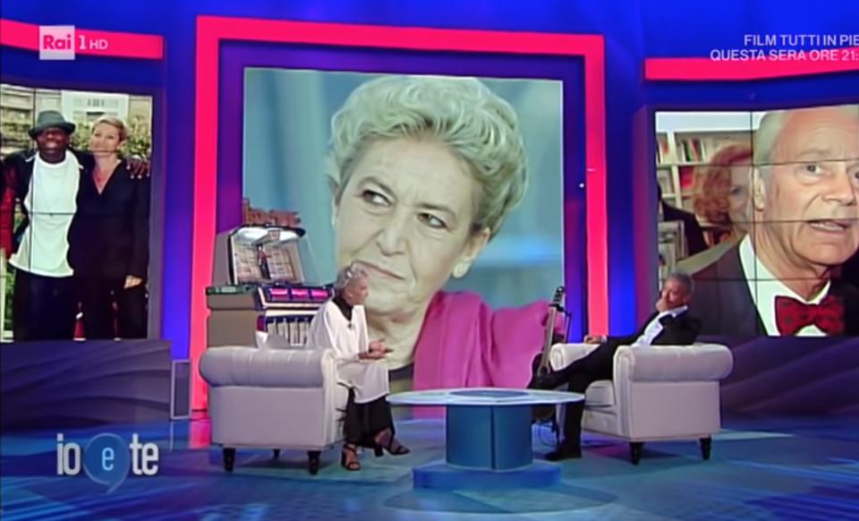 Barbara Alberti Covid Pierluigi Diaco Io e te ascolti tv