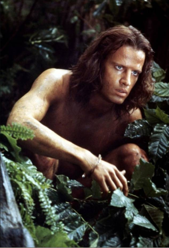 Christopher Lambert Greystoke - La leggenda di Tarzan stasera in Tv film Tv programmi Tv