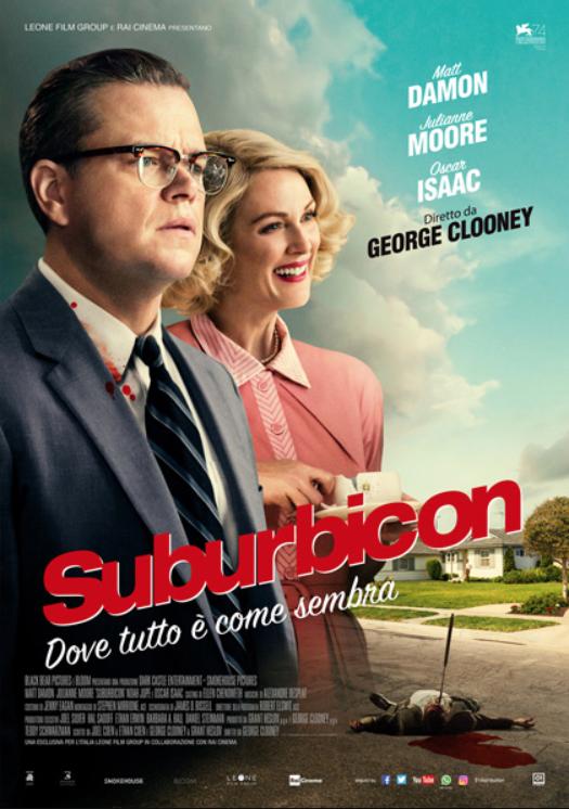 Suburbicon George Clooney Julianne Moore Matt Damon Stasera in Tv film tv