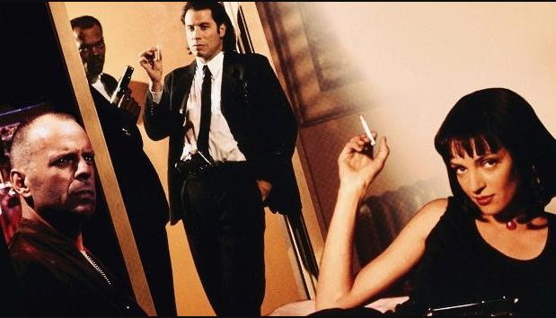 Pulp Fiction Quentin Tarantino stasera in Tv film tv