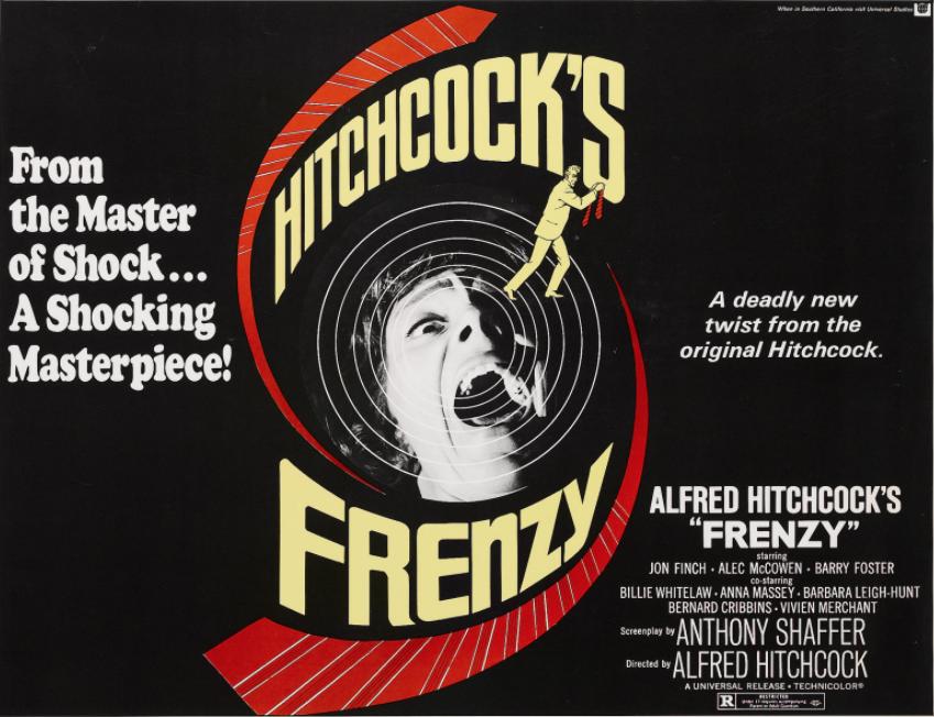 Frenzy programmi tv Alfred Hitchcock stasera in tv