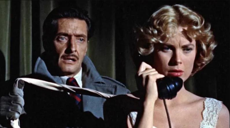 Grace Kelly Il Delitto perfetto Alfred Hitchcock film tv stasera in Tv