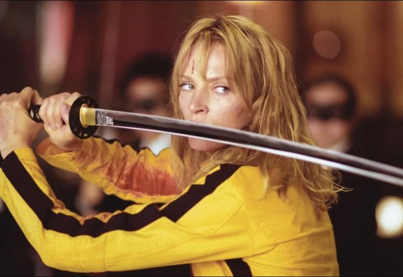 Uma Thurman Kill Bill stasera in Tv Quentin Tarantino maratona kill bill film sabato 12 settembre 2020