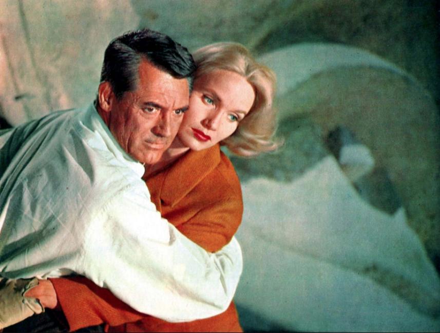Cary Grant Eva Marie Saint Intrigo internazionale Alfred Hitchcock stasera in tv