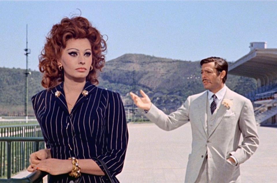 Sophia Loren Marcello Mastroianni Matrimonio all'italiana stasera in tv film tv domenica 13 settembre 2020