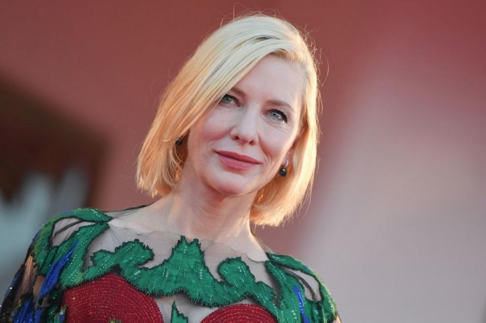 Cate Blanchett Mostra di Venezia presidente di giuria vittoria Nomadland abito armani privé