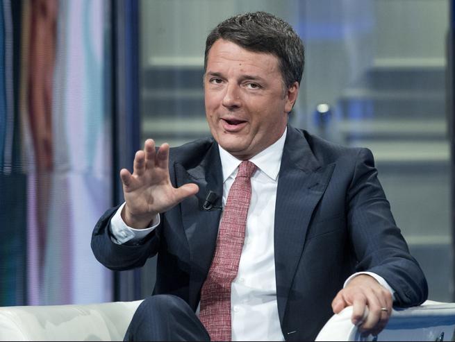 Matteo Renzi Italia Viva oscurata Tg anzaldi par condicio