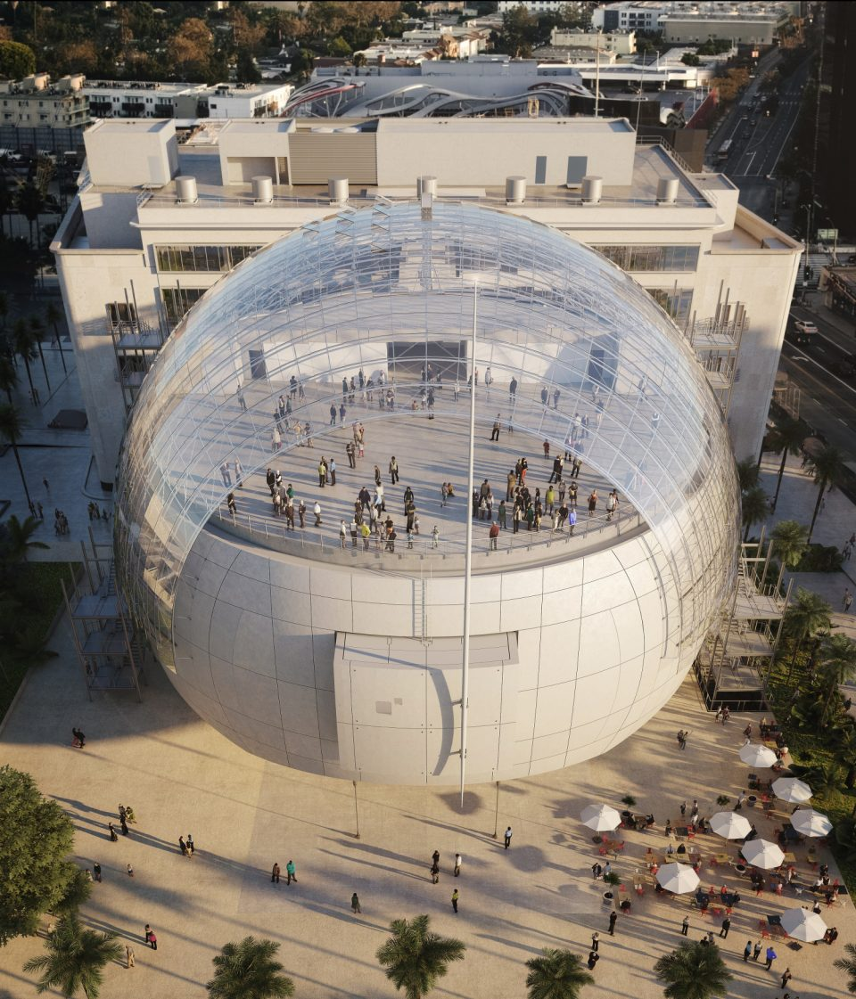 Academy Museum of Motion Pictures di Renzo Piano Los Angeles