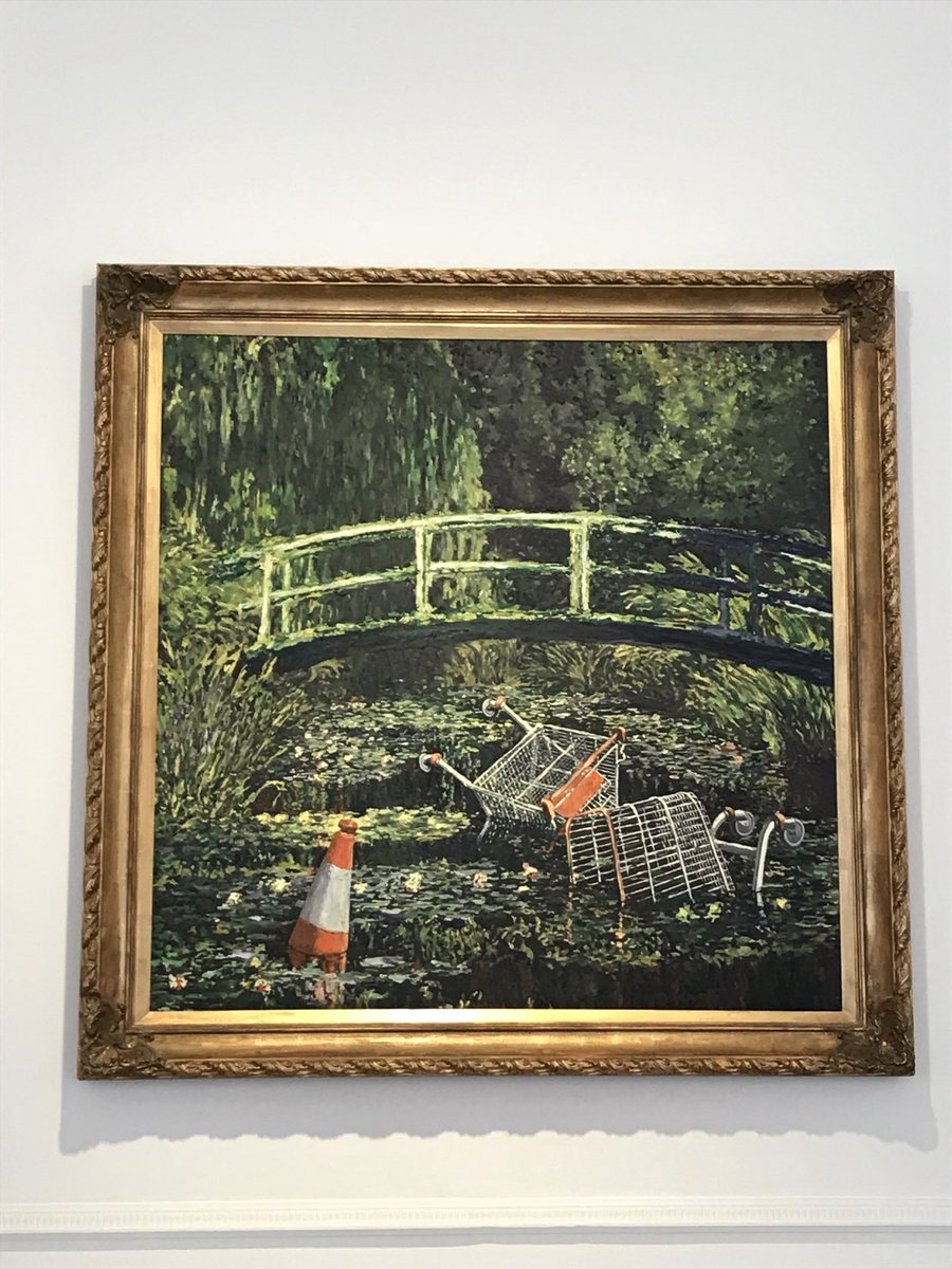 banksy - l'arte della ribellione al cinema. Show me the Monet