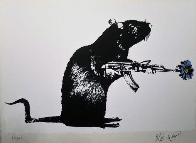 blek le rat banksy