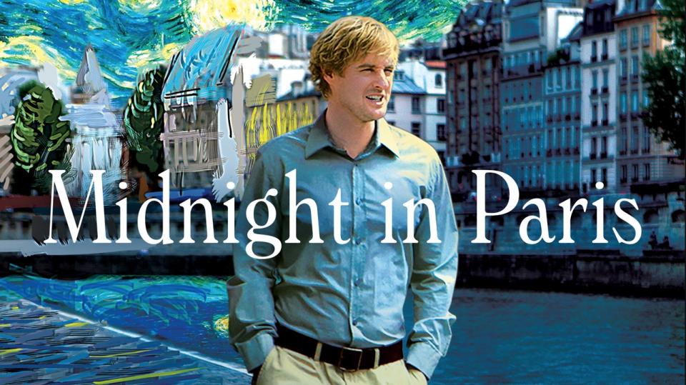 film tv 6 gennaio 2021 Midnight in Paris di Woody Allen con Owen Wilson e Marion Cotillard