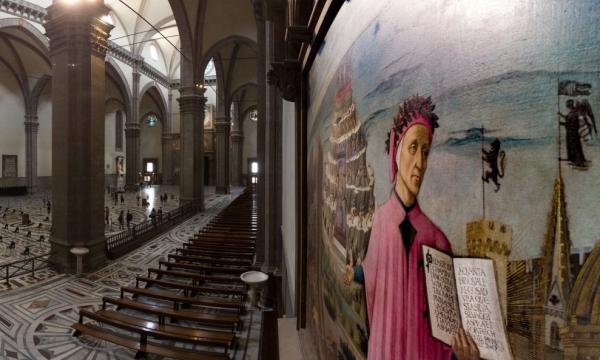 Dante 700: con Massimo Sestini, virtual tour fotografico dal Quirinale al desktop