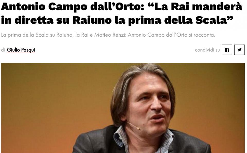 Fabrizio Salini Rai