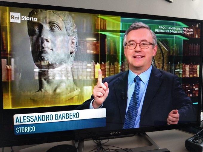 RaiStoria Alessandro Barbero RaiStoria chiude Michele Anzaldi