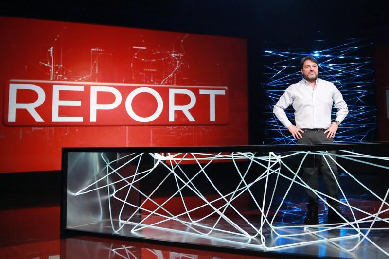 ascolti tv report