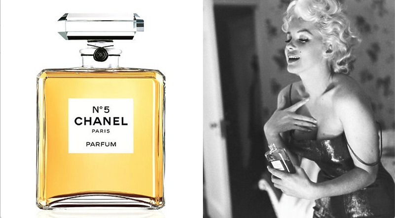 Chanel N°5 Marilyn Monroe