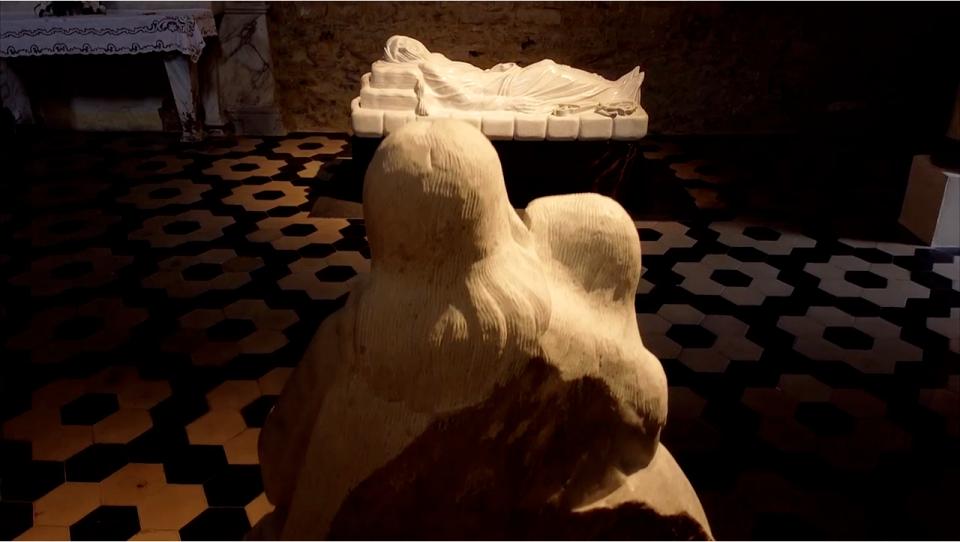 Felice Tagliaferri scultore cieco
