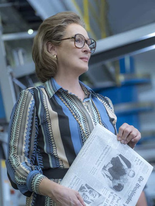 Meryl Streep The Post film tv martedì 24 novembre Steven Spielberg