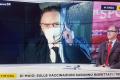 """RaiNews24. Lazio-Bruges, Goria """"in diretta dall'Olimpico"""". Ma è seduto in auto"""