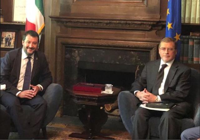 Salvini Grover Norquist Tg2 Anzaldi Anna Mazzone