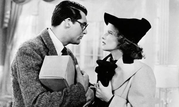 Film Tv 20 dicembre. Susanna! con Cary Grant e Katharine Hepburn