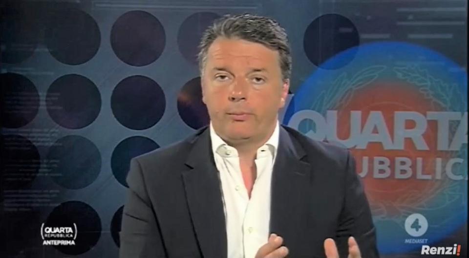 Matteo Renzi Quarta Repubblica Ascolti TV