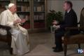 Tg5 intervista il Papa in esclusiva. Perché non la Rai?