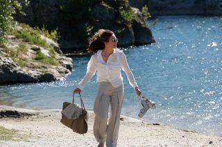 Diane Lane in una scena di Parigi può attendere - La recensione del film su VigilanzaTV