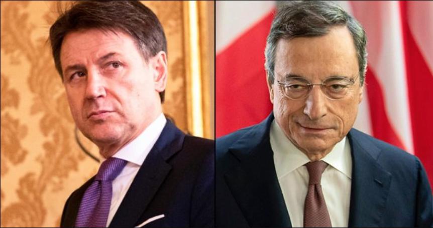 Conte Draghi Anzaldi