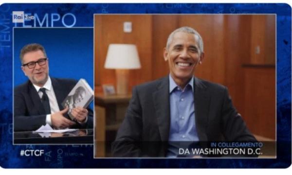 Ascolti Tv. Boom di Fazio con Obama. Fialdini batte D'Urso