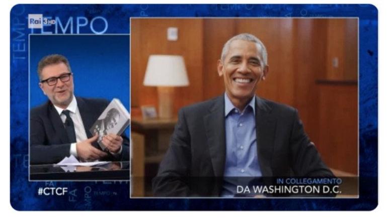 Fazio Obama Che tempo che fa ascolti Tv