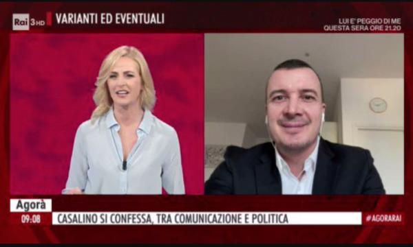 """Casalino a reti unificate. Anzaldi: """"A che titolo in Tv senza contraddittorio?"""""""