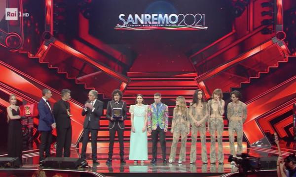Ascolti Tv Sanremo. La finale con vittoria dei Måneskin perde 7 punti di share dal 2020