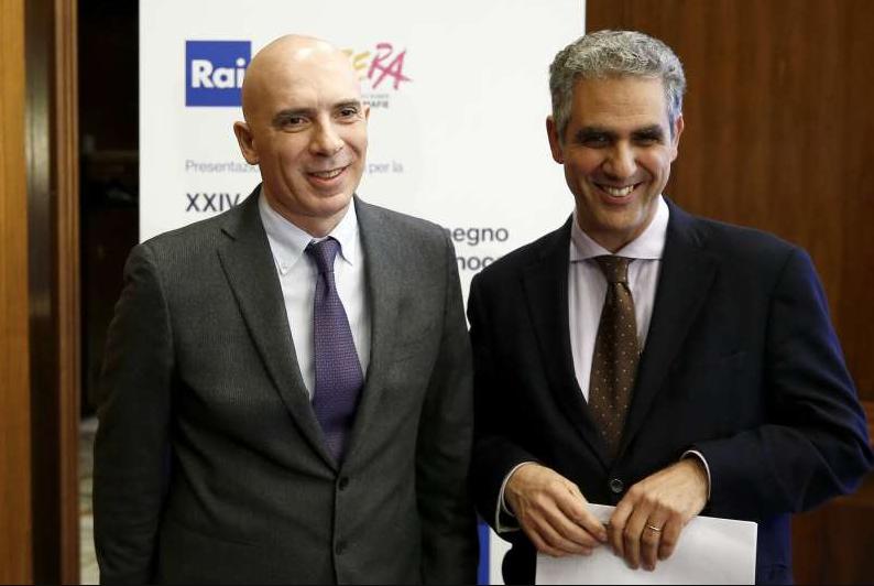 Fabrizio Salini Marcello Foa Rai Michele Anzaldi scadenza CdA