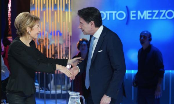 """Il direttore di La7: """"Non siamo grillini"""". E l'endorsement di Cairo a Conte?"""