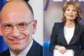 Enrico Letta da Lilli Gruber con Antonio Padellaro. A 8 e 1/2 si suggella la rinnovata alleanza Pd-M5s?