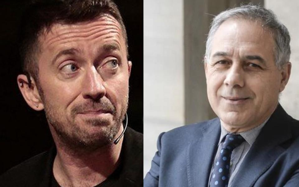 Scanzi Anzaldi Rai comizio Conte Montevarchi Arezzo minacce di morte a Renzi