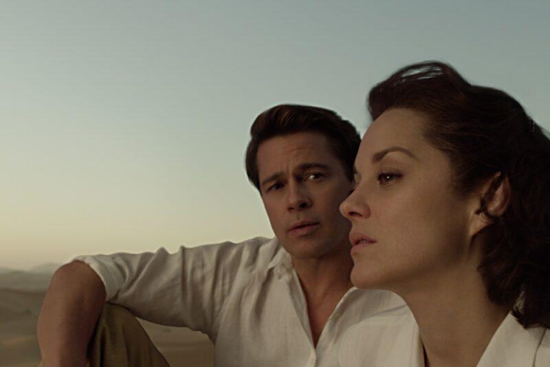 Film Tv 19 settembre. Allied: Zemeckis, Pitt, Cotillard e il suo passato