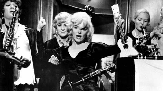 Film Tv martedì 24 agosto. Marilyn e l'ukulele: A qualcuno piace caldo