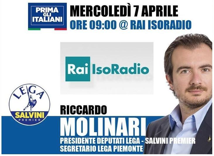 Isoradio Anzaldi Riccardo Molinari Simona Arrigoni