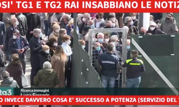 """Rai. Anzaldi: """"Tg1 e Tg2 insabbiano il caos vaccini in Basilicata. Disinformazione e censura"""""""