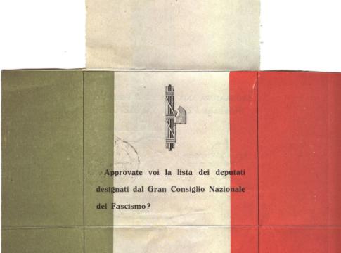 """Per il 25 aprile il vice del Tg1 pubblica simbolo del ventennio fascista. Anzaldi: """"Draghi sani queste derive"""""""