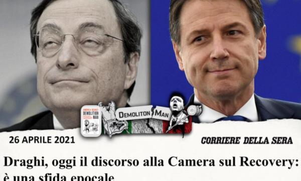 """Scanzi deride Draghi su Facebook. Anzaldi: """"Merita contratto da ospite fisso su Rai3?"""""""