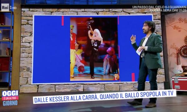 Rai1 celebra le ballerine in Tv. Kessler, Carrà, Parisi… ma non la Cuccarini. Omissione voluta?