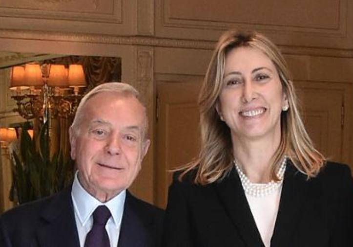 Gianni Letta Simona Agnes Presidente Rai