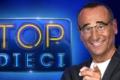 Ascolti Tv: anche senza Pio e Amedeo, Rai1, Carlo Conti e Top 10 crollano al 15.6% in prima serata