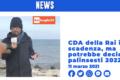 Rai, si avvera la profezia di Pinuccio di Striscia: il CdA in scadenza decide i palinsesti del 2022